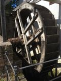 Mill Wood Wheel Royalty Free Stock Images