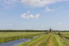 Mill Zwaantje in Friesland Royalty Free Stock Image