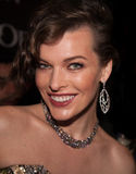Milla Jovovich. Premiere of the movie Resident Evil, September,6, 2012 at OCTOBER CINEMA  in Moscow, Russia Stock Image