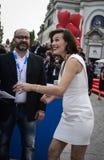 Milla Jovovich Fotografia Stock Libera da Diritti