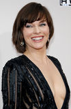 Milla Jovovich. At the 2016 American Music Awards held at the Microsoft Theater in Los Angeles, USA on November 20, 2016 royalty free stock image
