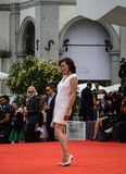 Milla Jovovich. Attends the 'Cymbeline' Premiere during the 71st Venice Film Festiva on September 3, 2014 Royalty Free Stock Image