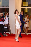 Milla Jovovich. Attends the 'Cymbeline' Premiere during the 71st Venice Film Festiva on September 3, 2014 Royalty Free Stock Photo