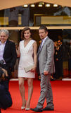 Milla Jovovich  and Ethan Hawke. Attends the 'Cymbeline' Premiere during the 71st Venice Film Festiva on September 3, 2014 Stock Photos