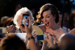 Milla Jovovich Royalty Free Stock Photo
