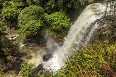 Milla Nilla Falls em Queensland, Austrália foto de stock royalty free