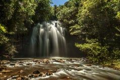 Milla Nilla Falls i Queensland, Australien royaltyfri fotografi
