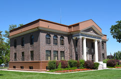 Millard County Courthouse Royaltyfri Fotografi