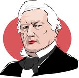 Millard Fillmore Royalty Free Stock Photos