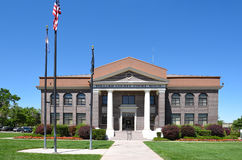 Millard okręgu administracyjnego gmach sądu Obrazy Royalty Free