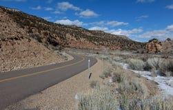 9 millas Canyon Road Imagen de archivo