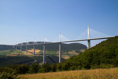 millau γεφυρών Στοκ φωτογραφία με δικαίωμα ελεύθερης χρήσης