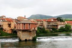 Millau, Aveyron Stock Foto