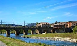 Millau Aveyron France Royalty Free Stock Photography
