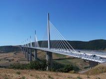Millau-Brücke Lizenzfreies Stockbild