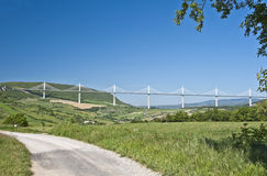 Millau Bridge Royalty Free Stock Photos