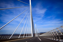 Millau bridge Royalty Free Stock Images