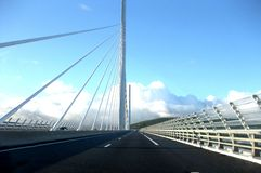 Millau bridge Royalty Free Stock Photography