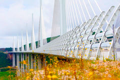 Millau bridge Royalty Free Stock Photos