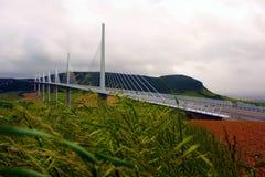 Millau bridge royalty free stock image