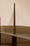 Millau bridge Stock Photography