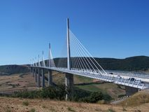 Millau Bridge royalty free stock image
