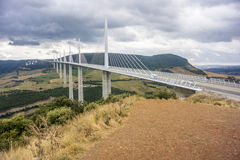 Millau Bridge Stock Photos