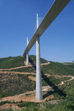 Millau bridge in France Stock Image