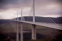Millau Bridge, France Stock Photos
