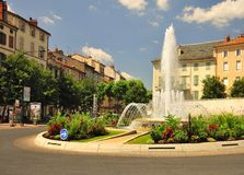 Millau town centre, France Royalty Free Stock Images