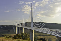 Millau Viaduct Stock Photo