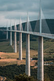Millau Viaduct Royalty Free Stock Images