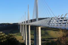 Millau Viaduct, Aveyron Deparement, France Royalty Free Stock Images