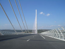Millau viaduct France Royalty Free Stock Images