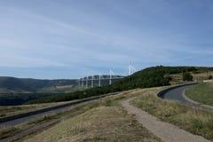 Millau Viaduct, France Royalty Free Stock Image