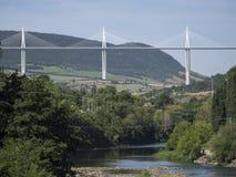 Millau Viaduct, France Stock Image