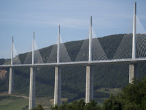 Millau Viaduct, France Royalty Free Stock Images