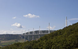 Millau Viaduct, France Royalty Free Stock Photography