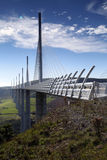 Millau viaduct in France, Europe Royalty Free Stock Image