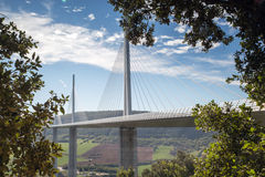 Millau viaduct in France, Europe Stock Photos