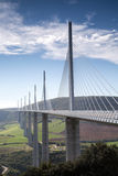 Millau viaduct in France, Europe Stock Images