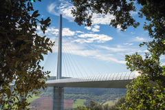 Millau viaduct in France, Europe Stock Photography