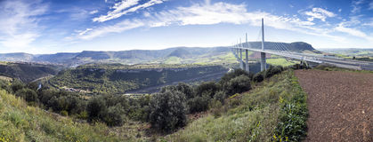 Millau viaduct in France, Europe Royalty Free Stock Photos