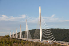 The Millau Viaduct in France Stock Image