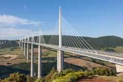 The Millau Viaduct in France Stock Photos