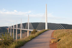 The Millau Viaduct in France Stock Images