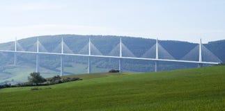 Millau Viaduct Royalty Free Stock Photos