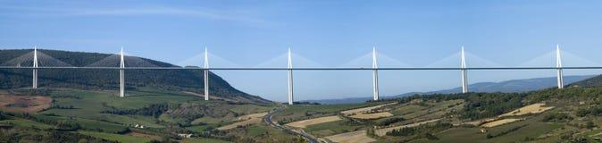 Millau-Viadukt Stockbilder