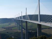 Millau-Viadukt Stockfotos