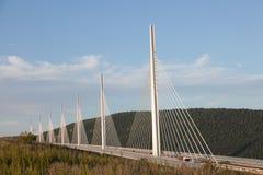 Millau wiadukt w Francja Obraz Stock